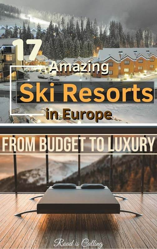 These ideas on skiing in Europe will perfectly suit budget travelers. I know how costly ski holidays can be, that's why this guide has detailed information... #skiingineurope #bestskiresorts #skiingonabudget #skiholidays