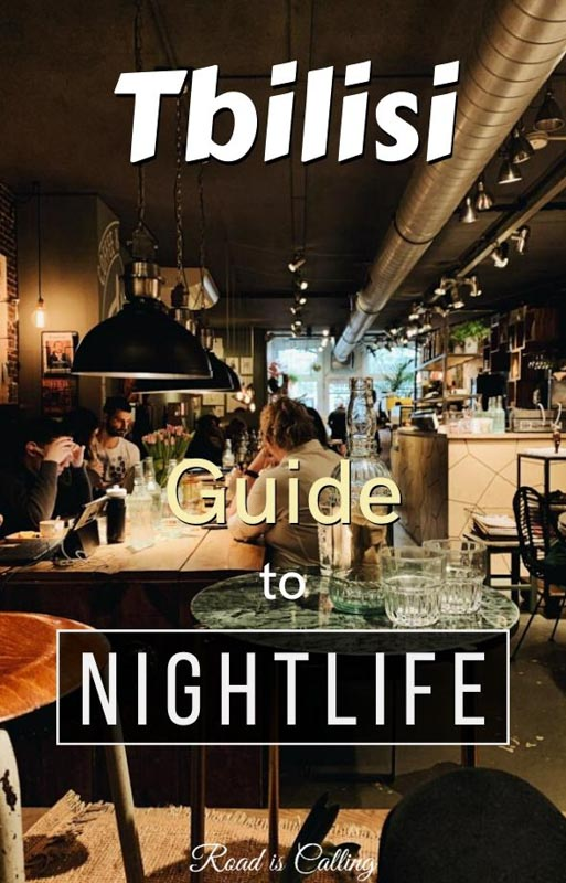 Tbilisi nightlife is filled with possibilities. From fancy cocktail bars and clubs to dance and music festivals, everyone can find something to his taste and mood #georgiatravel #tbilisibars #bestoftbilisi