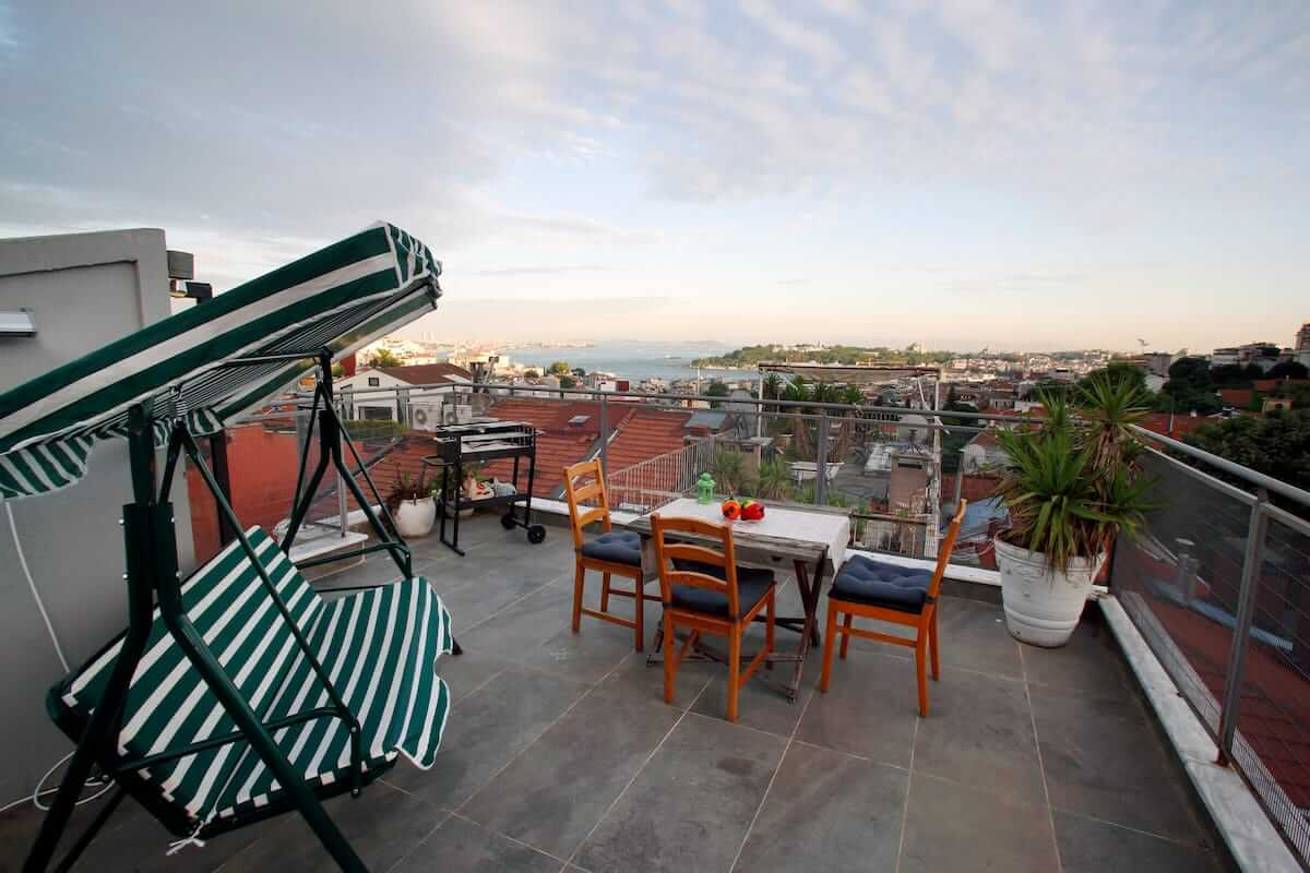 best airbnb in Istanbul Taksim area