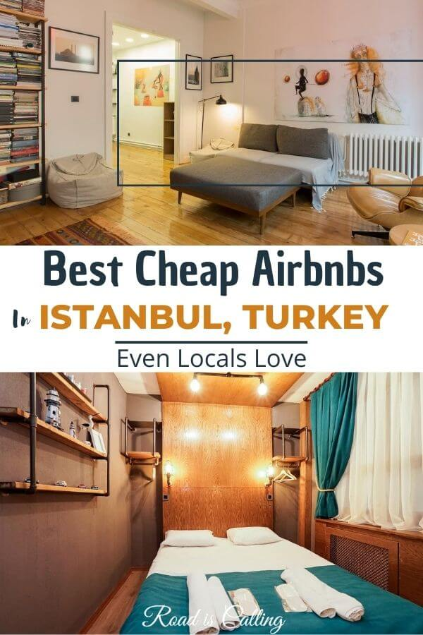 Best cheap airbnbs in Istanbul, Turkey