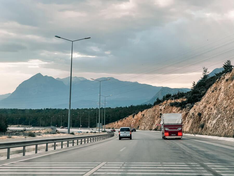 roads in Turkey
