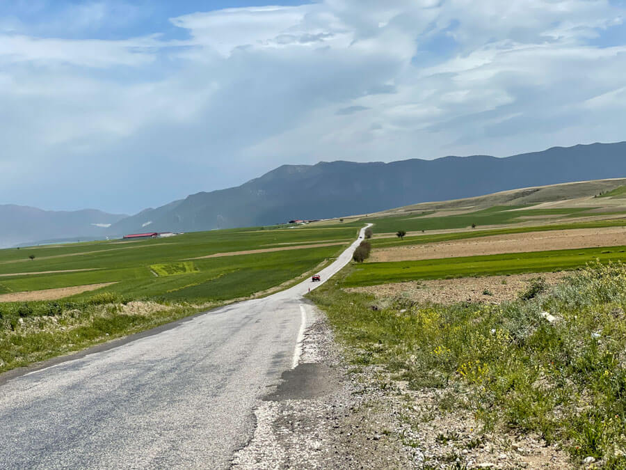 Antalya to Pamukkale by car