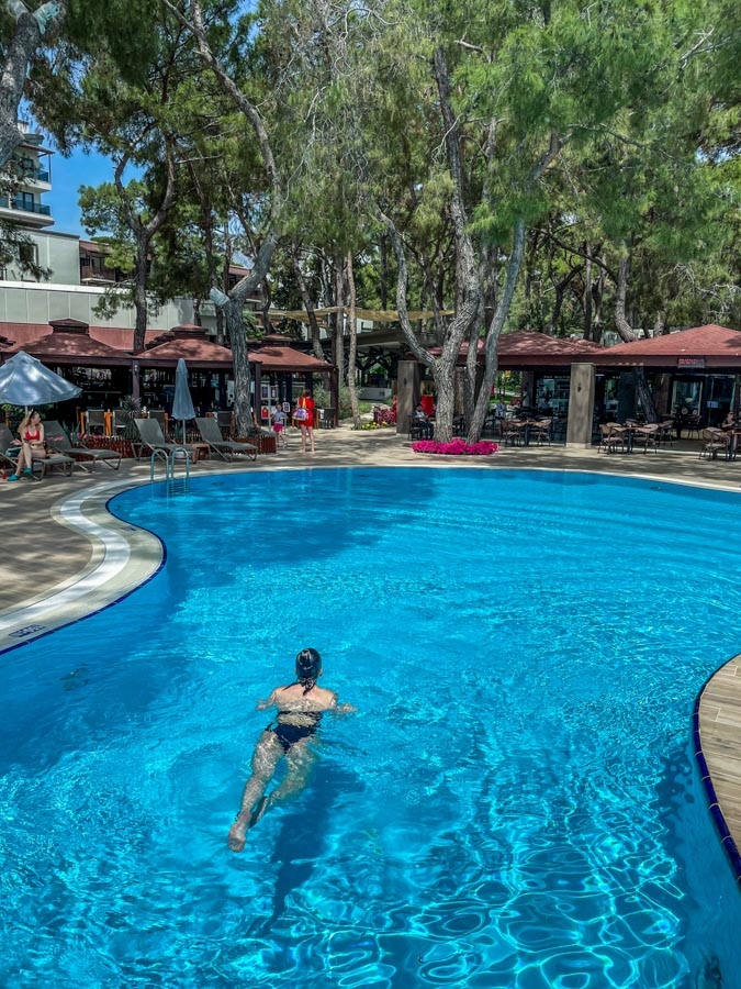 Antalya hotel stay in winter