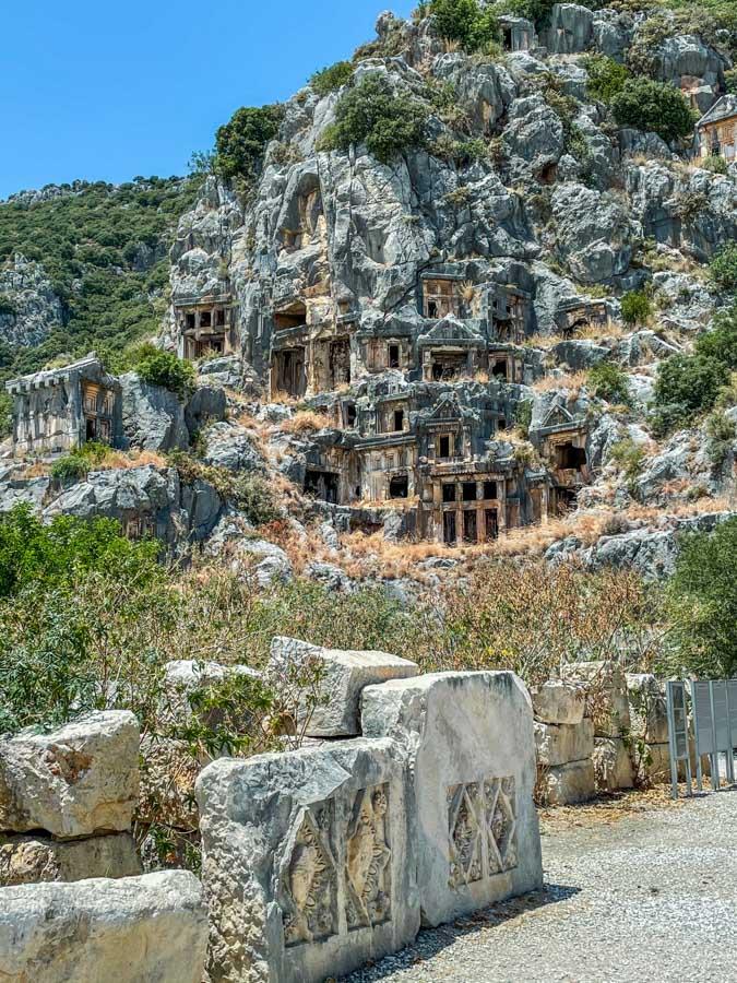 Myra on the way from Fethiye to Antalya