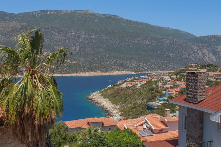 on the way from Antalya to Fethiye