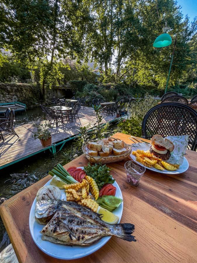 Lunch in Adrasan village