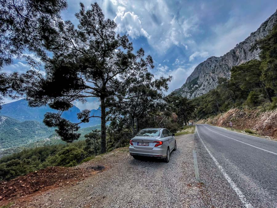 Antalya to Fethiye road trip itinerary