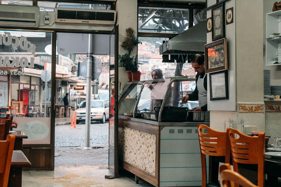 Bergama cafe