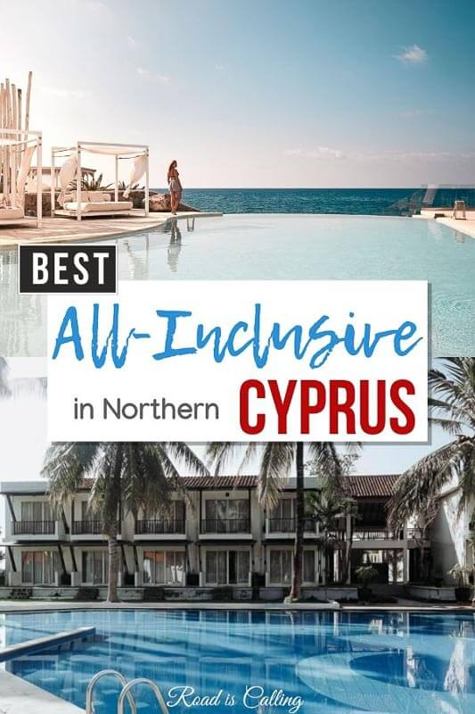 Ever thought about paying a visit to Northern Cyprus? This part of the island has many gorgeous hotels to choose for your vacation! See these all-inclusive resorts, 5-star hotels, budget guest houses and villas with a view, the choise is yours! #summerineurope #bestsummerdestinations #bestofcyprus #cyprustravel #besteuropevacations