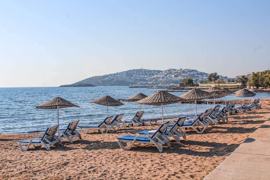 best beaches in Bodrum