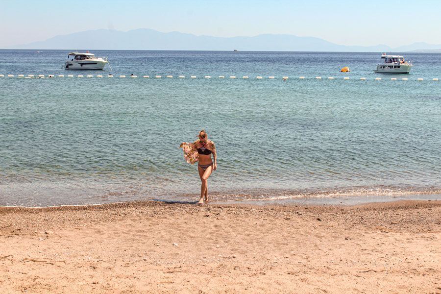 beaches near Bodrum