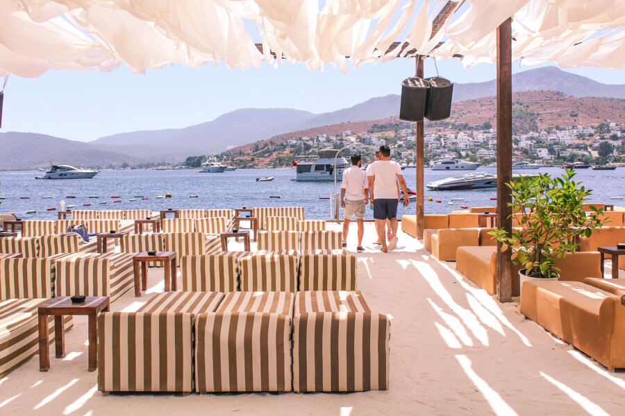 Bodrum beach clubs