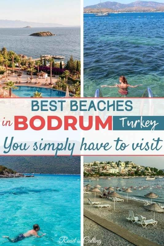 Did you know that Bodrum has some of the best beaches in Turkey? Some of them are perfect for a family visit, others for windsurfers, divers or just relaxed holiday. Check them out and plan your next adventure! #bestofturkey #turkeytravel #turkeybeaches #turkey