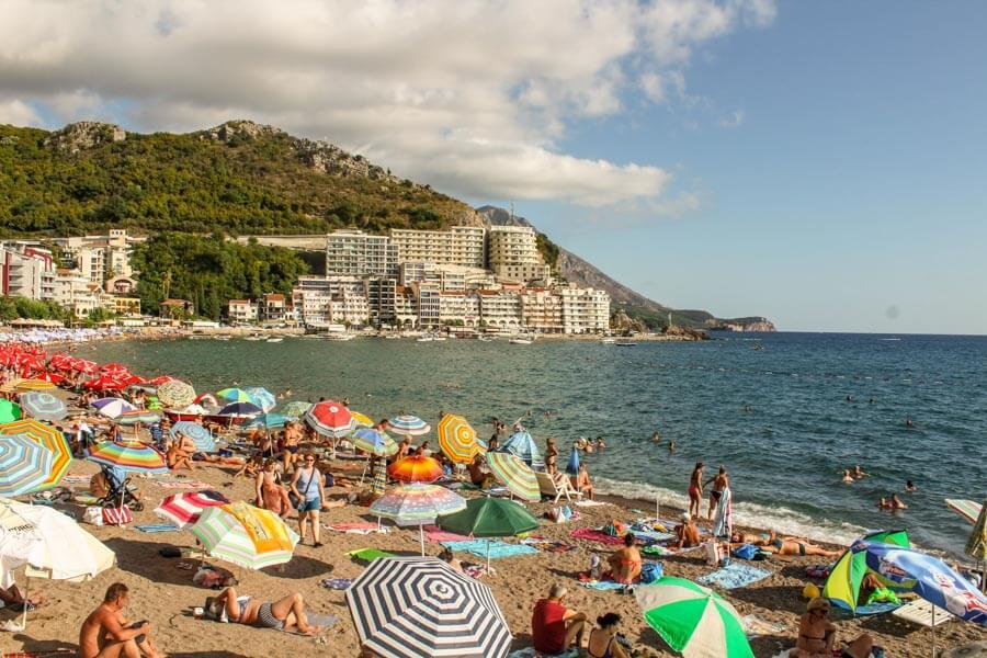 Kamenovo beach Montenegro