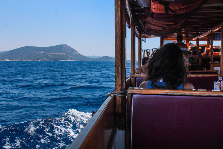 boat trips from Bodrum