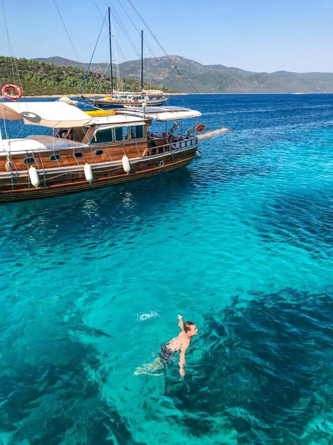 best Bodrum boat tours