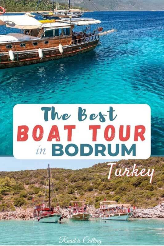 Bodrum in Turkey has some of the pretiest bays and lagoons with crystal clear blue water! To experience them, you need to go on a boat trip - see this post to find out which one is the best! #bestofturkey #bodrumturkey #turkeytravel