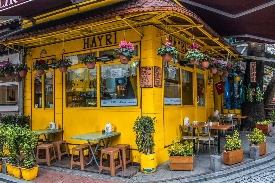 Istanbul cafes