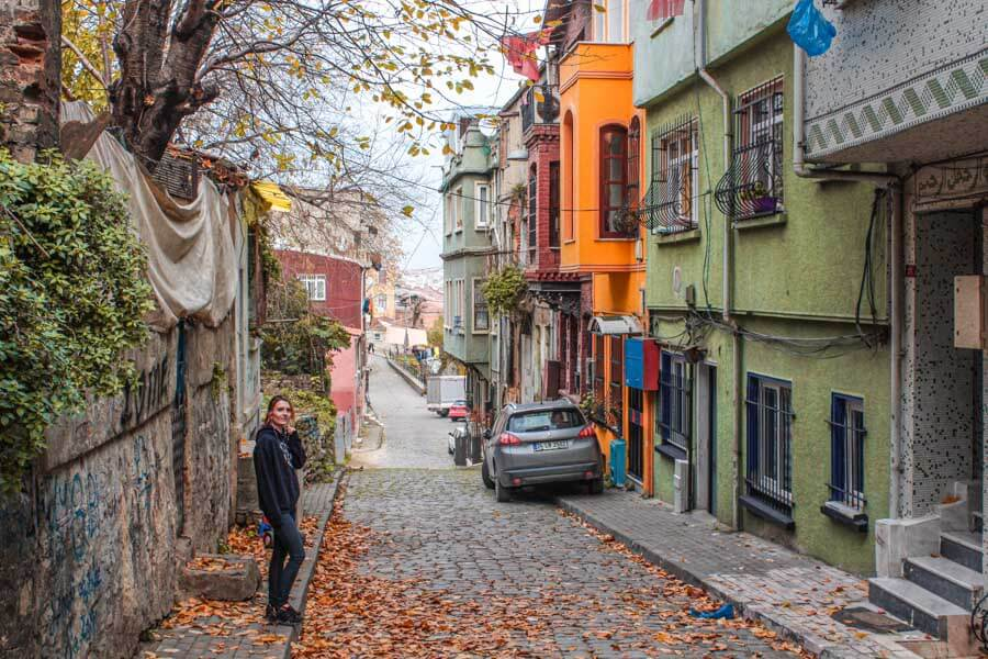 streets of Balat neighborhood