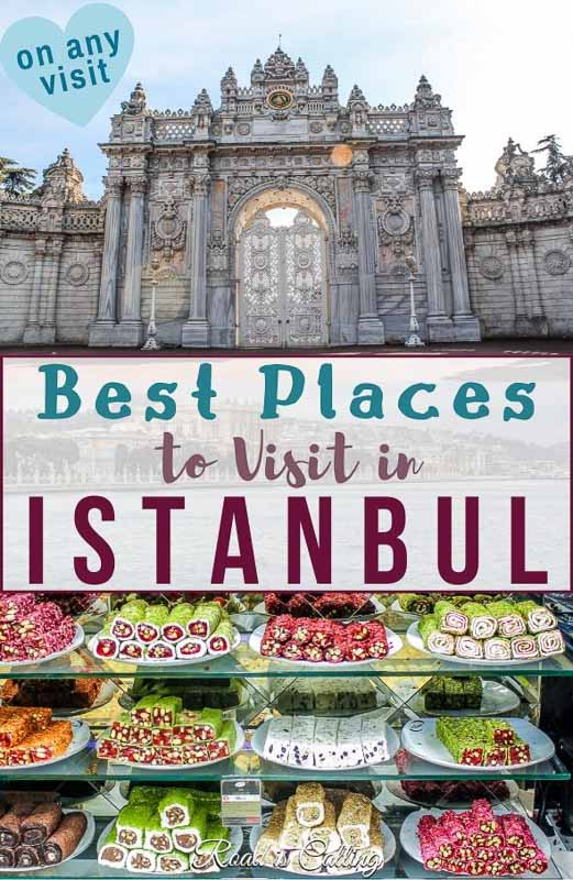 List of all must-visit places in Istanbul - from the most Instagrammable spots to ancient palaces, interesteing museums and cafes with a view #istanbultravel #bestofistanbul #thingstodoinistanbul