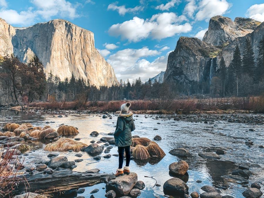 winter trip to Yosemite