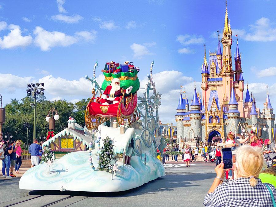 winter trip to Disney
