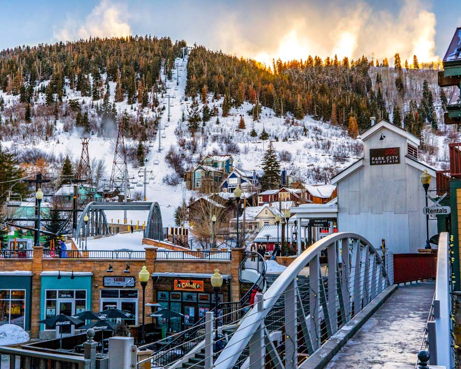 ski getaway in Utah