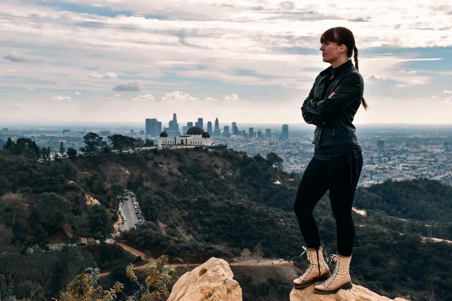 Los Angeles winter vacation