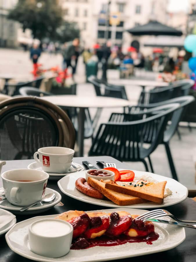 best breakfast in Lviv