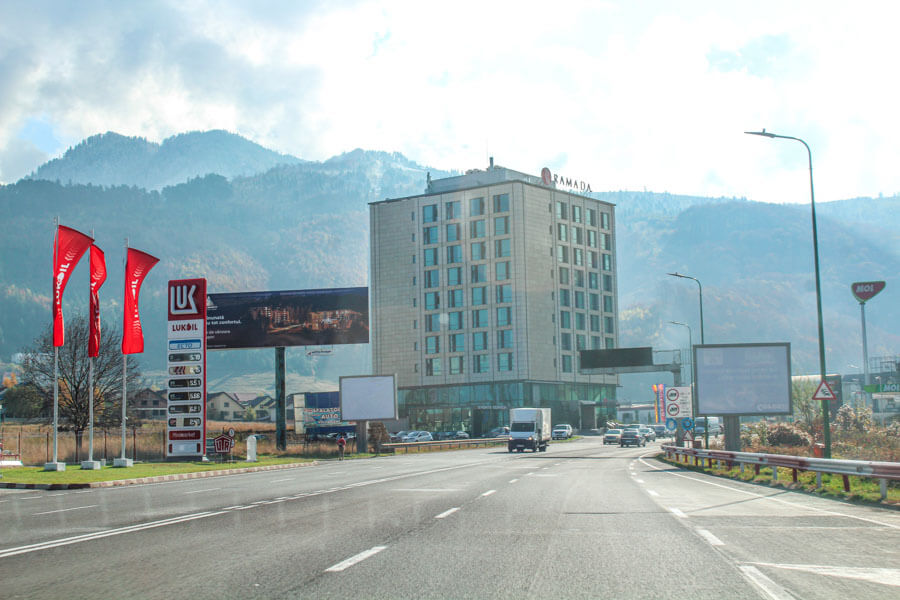 Bucharest to Brasov