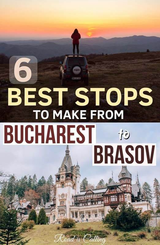 Are you wondering if there is anything to see on the way from Bucharest to Brasov? This scenic route has a lot of beautiful spots that you have to check out! If you are planning to travel from Bucharest to Brasov by car or by train, make sure to visit at least some of these places on Transylvania road trip! #transylvaniaroadtrip #bucharest #brasov #beautifulplaces #romaniatravel #bestofromania