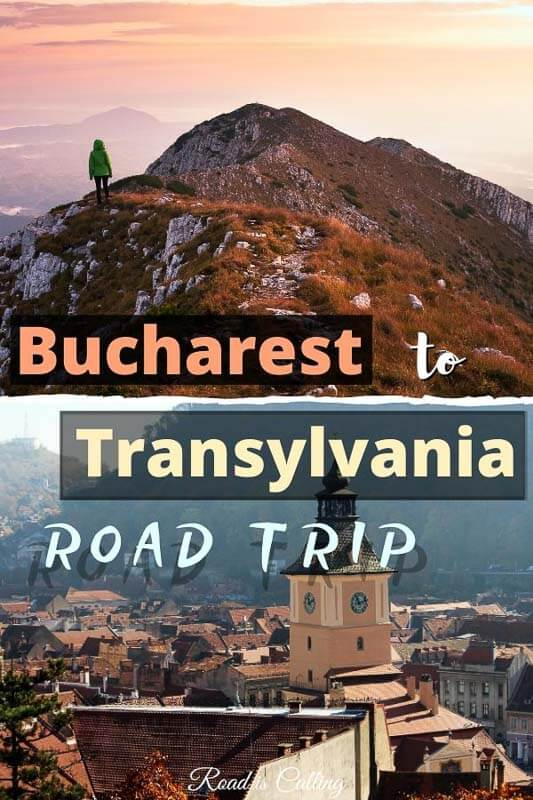 Do not skip the opportunity to go on a road trip from Bucharest to Transylvania, this drive has a lot to offer! From traditional Romanian villages with yummy food to mountain peaks, ancient monasteries, and canyons! And then ending your drive in Brasov. Check it out! #transylvaniatrip #romaniatravel #transylvaniatravel #bestofromania