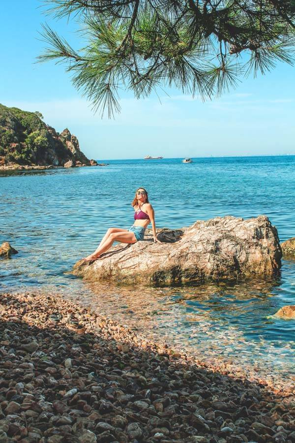 Burgazada island