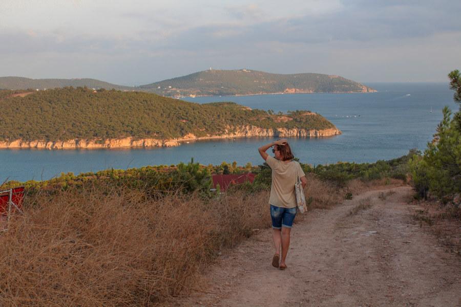 hiking on Princess islands