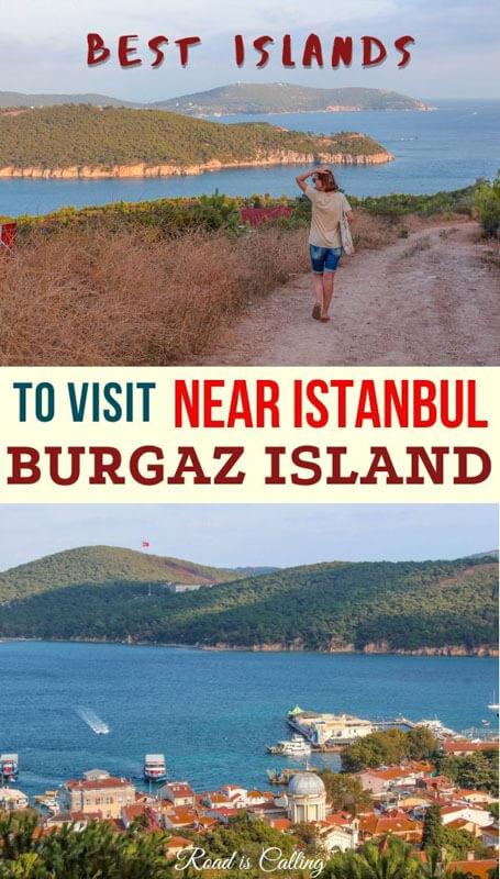 Burgazada island on a day trip from Istanbul