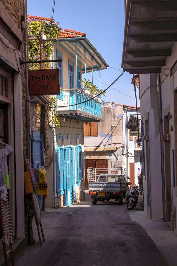 driving in Larnaca