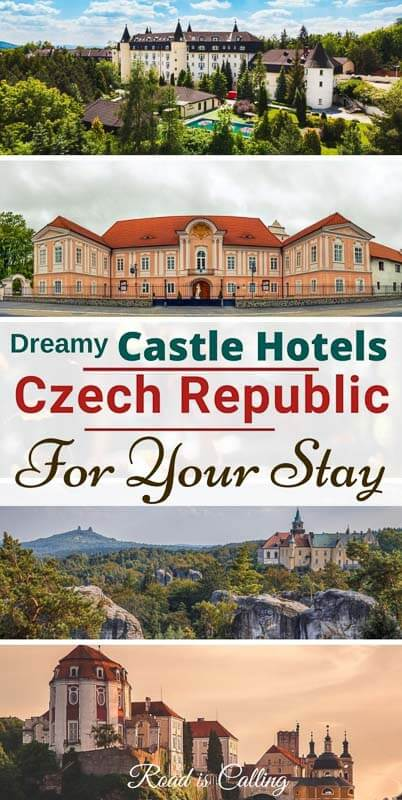 Did you know that there are more than 50 castle hotels in the Czech Republic? And they are much cheaper than those in France, Austria, Ireland or Scotland. Find out where to stay on your next visit! #bestofprague #czechrepublic #castlehotelseurope