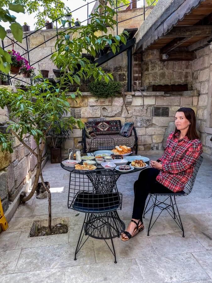 breakfast in Cappadocia