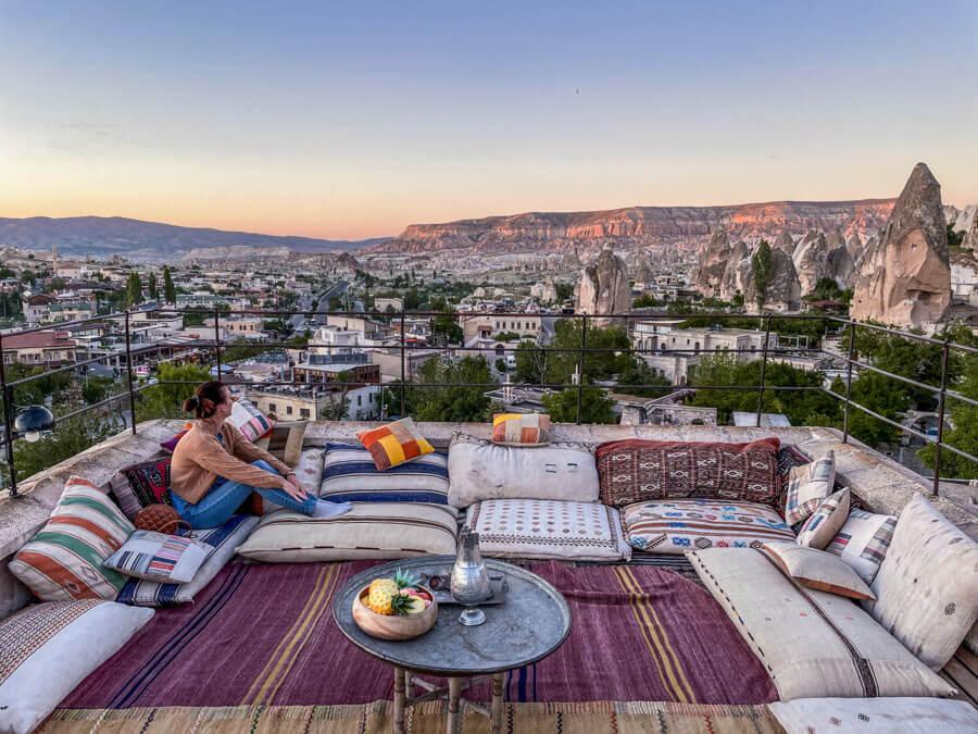 best hotel in Cappadocia with a terrace