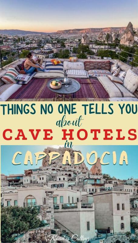 Best cave hotels in Cappadocia, Turkey