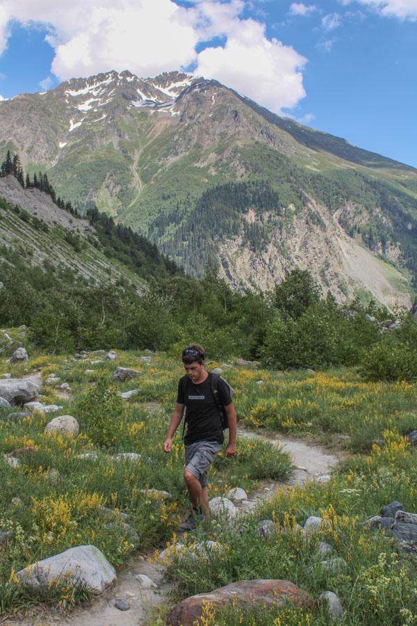 Mestia hiking