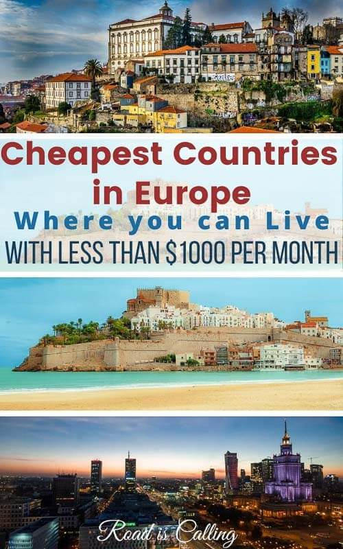 Cheap countries to live in Europe