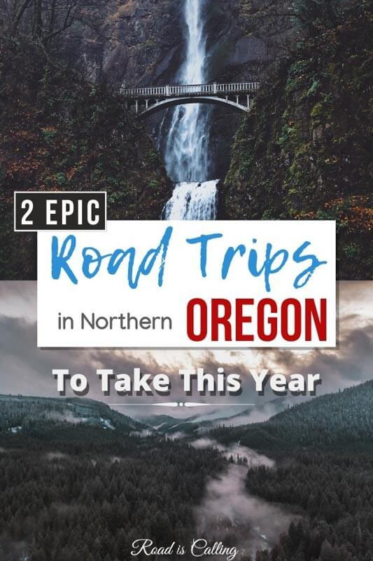 Two of the most scenic road trips in Oregon and Washington states. Discover what they are and the best things to do and see along the way! | Best Road Trips in the USA | #roadtripsinamerica #bestroadtripsinusa #usabucketlist