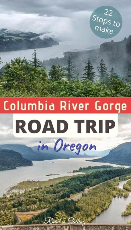 One of the most spectacular road trips in Oregon and Washington states - a road trip along Columbia River Gorge! Discover the best things to do and see along the way! | Best Road Trips in the USA | #roadtripsinamerica #bestroadtripsinusa #usabucketlist