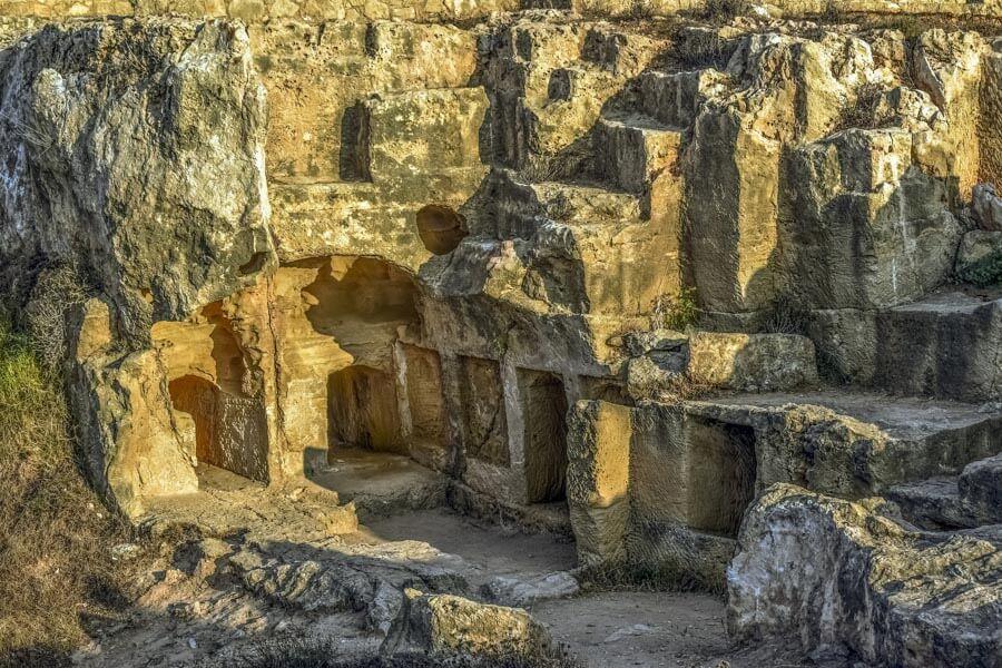 Paphos ancient ruins
