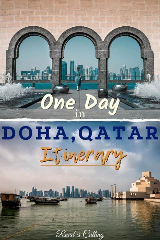 One day in Doha, Qatar itinerary for everyone who is planning to visit on a short or long layover to Qatar #bestofqatar #dohaqatar #dohalayover #onedayindoha