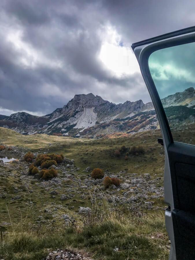 durmitor national park mountains