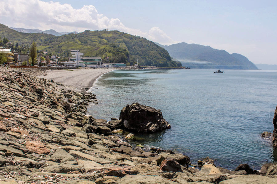 Black Sea coast beaches