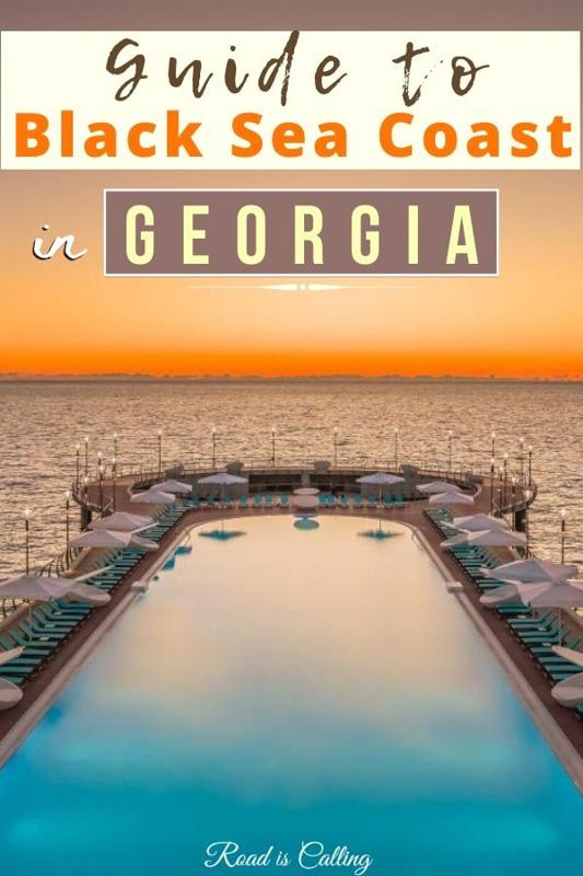 Georgia Black sea coast