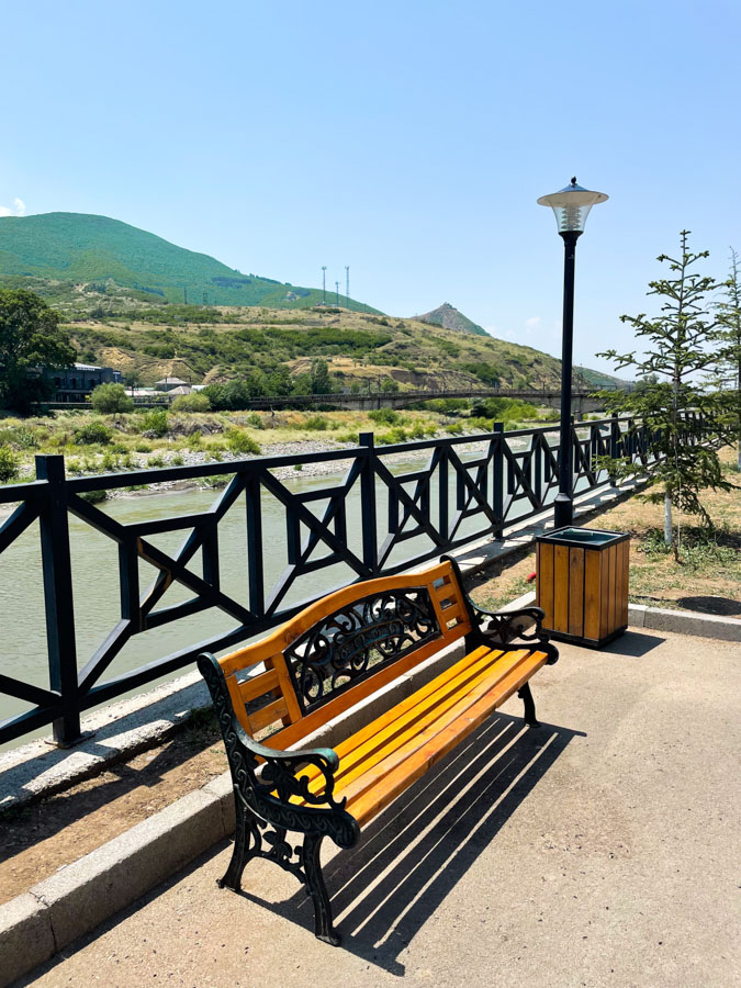 visiting Gori on a road trip from Tbilisi to Kutaisi
